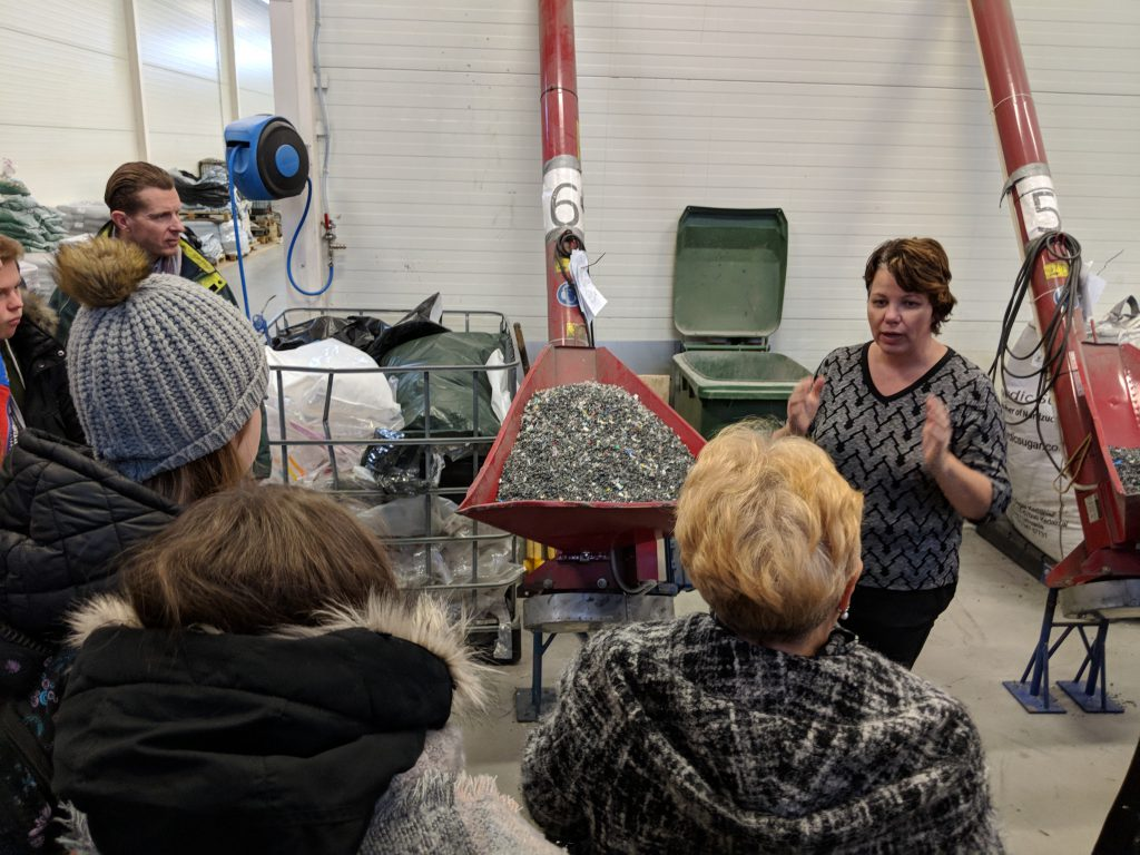 Plastrex tehase külastus. Foto: Kaupo Oja